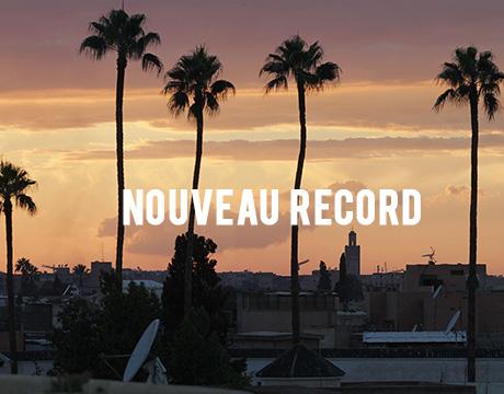 Nouveau record de vente : Bénédicte gagne un voyage à Marrakech !