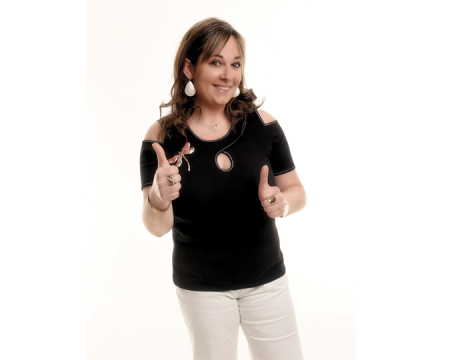 Sandrine explique son métier de VDI chez Charlott'